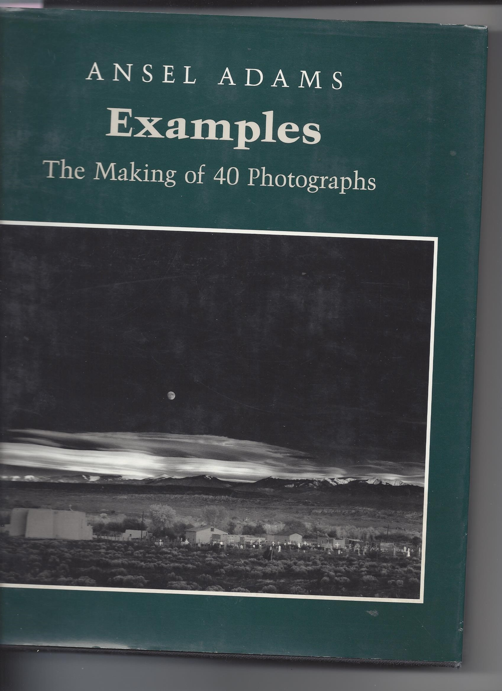 Image for The Making of 40 Photographs; Examples